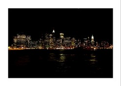 New York bei Nacht / at night